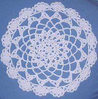 LACY Thread Doily Thread Crochet Pattern - Free Crochet Pattern Courtesy of Crochetnmore.com