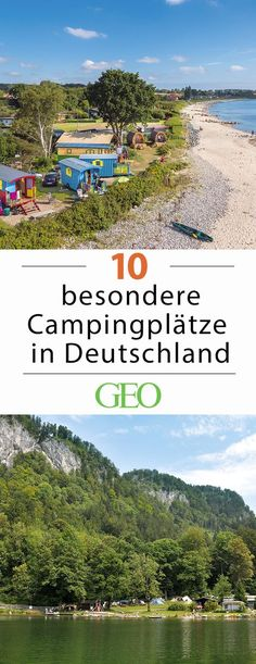 """Campingplätze in Deutschland: Schöne Zeltplätze Old robber hiding places in dilapidated castles, untouched nature on the former inner German border, camping directly on the beach, """"glamping"""" in the co Glamping, Voyage Bali, Destination Voyage, Outdoor Camping, Outdoor Travel, Rv Camping, Luxury Camping, Camping Equipment, Camping Water"""