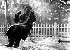 Ikiru (To Live) [1952] by Akira Kurosawa, starring Takashi Shimura.