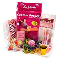 Bachelorette and Gay Bachelor party all in one party kit.