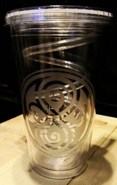 Personalized tumbler of  Doctor Who  (Time Lord)