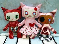 Awesome cat plushies