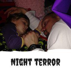 Mange børn lider af mareridt/ Night terror. Læs her hvad forskellen er på mareridt og Night terror. Og læs også hvorfor dit barn lider af Night terror.