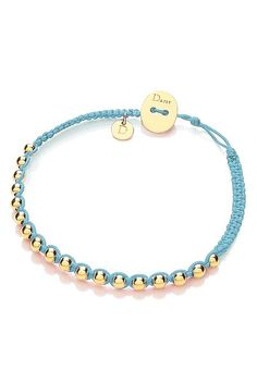 Friendship Bracelet In Turquoise by DAISY