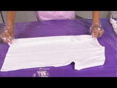 Tulip Tie-Dye Folding Technique How To - YouTube