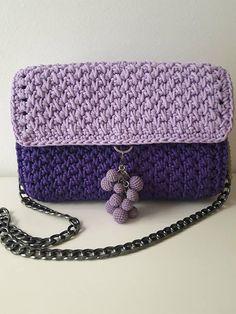 Crazy purple bag