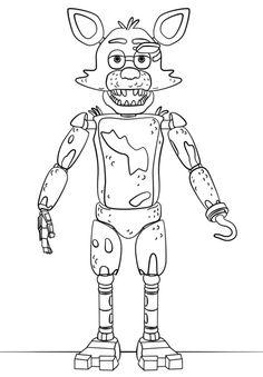 Nightmare Freddy Super Coloring Fnaf Coloriage