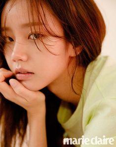 Girl's Day's Hyeri rocks minimal makeup for 'Marie Claire' Lee Hyeri, Girl's Day Hyeri, Girl Day, My Girl, Girls Day Profile, Minimal Makeup Look, Daisy Girl, Korean Couple, Korean Celebrities