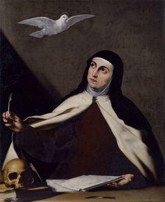 Santa Teresa de Jesús, José de Ribera, ca. 1645.