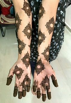 Simple Mehndi Designs for every Occasion - SetMyWed