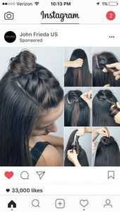 Half Up Braid Top Knot Frisuren Braids Braids In - Diy Braided Chignon Hair Long Hair Braids How To Diy Hair Hair Tutorial Hairstyles Hair Tutorials Easy Hairstyles Take A Look At Some Of The Hair On Our Page Wed Love To Hear Your Feedback Ros Easy To Do Hairstyles, Hairstyle Ideas, Knot Hairstyles, Easy Hairstyle, Latest Hairstyles, Wedding Hairstyles, Straight Hairstyles, Hairdos For Work, Hairstyles Tumblr