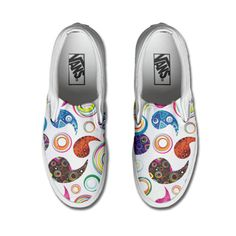Vans Customized HAPPY PAISLEY only www.makeyourshoes.eu