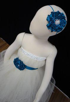 Flower Girl Dress Tutu Dress Birthday Dress by LureCouture on Etsy, $44.50