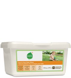 Free & Clear Baby Wipes. Seventh Generation.