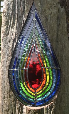 Louise V Durham Stained Glass Sculptures Shoreham by Sea