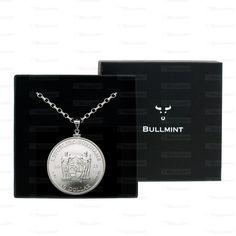 2013 Suriname Silver Suriname 1oz Pendant- COIN EDGE in a Bullmint display box