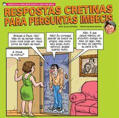 RESPOSTAS CRETINAS PARA PERGUNTAS IMBECIS, IDIOTAS | coisas pra ver