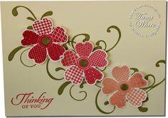 CARD: Flower Shop Sympathy | Stampin Up Demonstrator - Tami White - Stamp With Tami Stampin Up blog