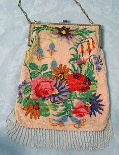 Beaded Bag, 1915-1925 I have bags very much like this one