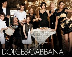 http://www.dolcegabbana.com/dg/woman/advertising-campaign/gallery/ the family photo that is in Vogue, I love the the grandmamas, and their black lace dresses