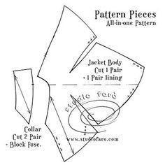 Pattern Puzzle - The Erté Jacket