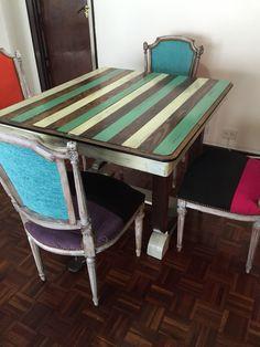 Juego de mesas y sillas!