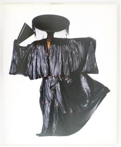 Issey Miyake, Ensemble, photographed by Irving Penn, 1987