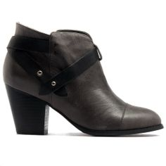 RAPT | Cinori Shoes #ankleboots #booties #blockheel #heel #winter #aw14 #straps #leather #chic #djangojuliette #cinori