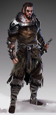 Tagged with art, drawings, fantasy, roleplay, dungeons and dragons; Dark Fantasy, Fantasy Male, Fantasy Armor, Medieval Fantasy, Fantasy Art Warrior, Fantasy Fighter, Fantasy Character Design, Character Creation, Character Concept