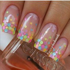 94 Amazing Polka Dots Nail Art Ideas, Neon Nail Art that S Perfect for Slaying Spring & Summer Cute Polka Dot Nail Art Tutorial, 30 Adorable Polka Dots Nail Designs, Fun and Easy Easter Nail Art Ideas and Manicures. Dot Nail Designs, Easter Nail Designs, Easter Nail Art, Nails Design, Birthday Nail Designs, Clear Nail Designs, Flower Nail Designs, Pretty Nail Designs, Birthday Design