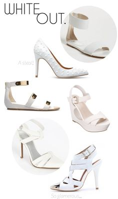 Spring Trend Roundup: White Shoes