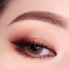 Eye Makeup Tips – How To Apply Eyeliner – Makeup Design Ideas Korean Makeup Look, Korean Makeup Tips, Asian Eye Makeup, Korean Makeup Tutorials, Korean Beauty, Korean Eyeshadow, Dark Eyeshadow, Makeup Eyebrows, Makeup Collection