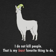 Llamas with hats. You either get it or...you don't.