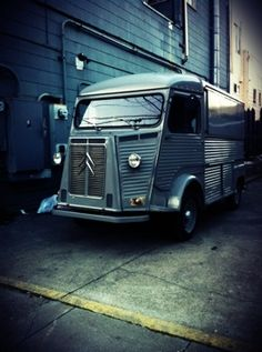 Rapha truck in SF