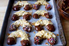 almond horn cookies | smittenkitchen.com