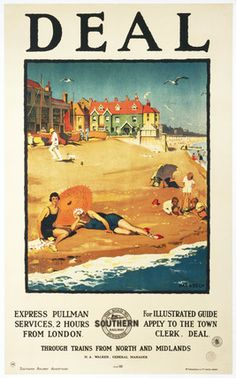 Deal - Southern Railway Poster