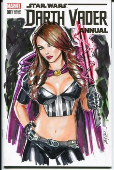 Lady Sith Comic Art