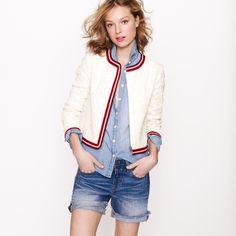 Jcrew Sequin Jacket