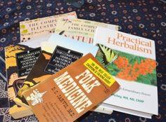 30 Herbal books to stock your homestead library -- Joybilee Farm.