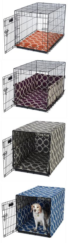 colorful dog crate mattress and cover sets | FelixChien.com