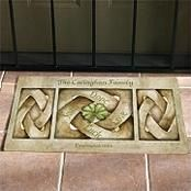 celtic knot doormat