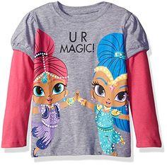03ee39d9b Nickelodeon Toddler Girls Shimmer and Shine