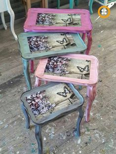 Mobili per decoupage – Recycled Furnitures Ideas