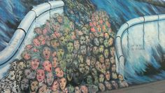 Berlin wall art - one day we'll be in charge