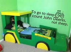 John Deere  To go to sleep i count John Deere not sheep!