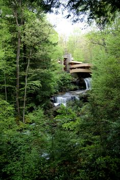 Fallingwater. 1936-9. Bear Run, Pennsylvania. Frank Lloyd Wright