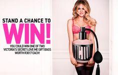 Win 1 of 2 Victoria's Secret Love Me Gift Bags worth each Secret Love, Gift Bags, Competition, Fragrance, Victoria Secret, Perfume, My Love, Gifts, Accessories
