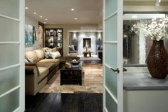 I want my living room or basement to look similar like this.