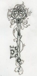 I.really.love.this Tattoo Ideas Central To Finish The Heart Lock And Key On My Right Thigh