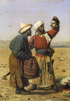 Fan account of Vasily Vereshchagin, one of the most famous Russian war artists and one of the first Russian artists to be widely recognized abroad. Russian Painting, Russian Art, Empire Ottoman, Islam, Art Database, Oil Painting Reproductions, Kandinsky, Good Luck, North Africa